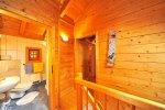 Zimmer Holzblockhaus Appartement