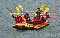 Rafting im Mölltal